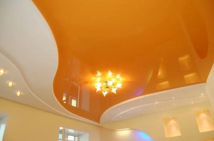 Новый потолок из пленки