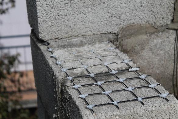 Армировка стен шлакоблока