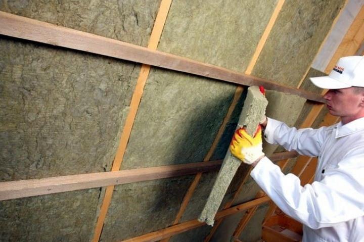 минеральная вата для крышы