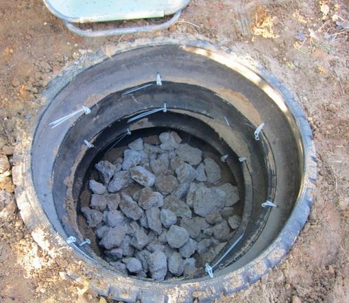 Автопокрышки для ямы