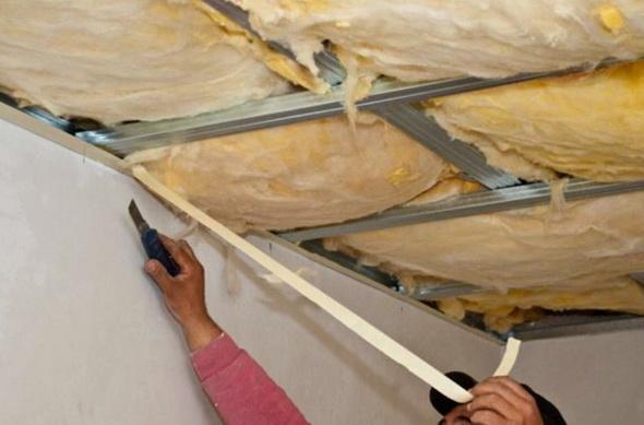 Как изолировать потолок