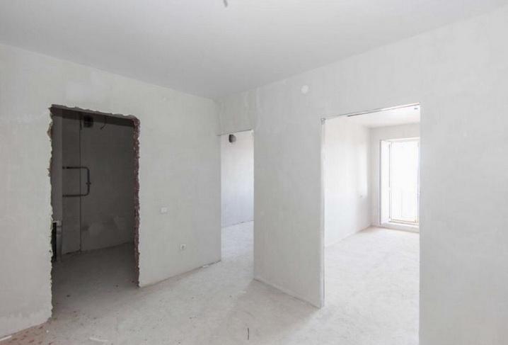 оштукатуреная комната