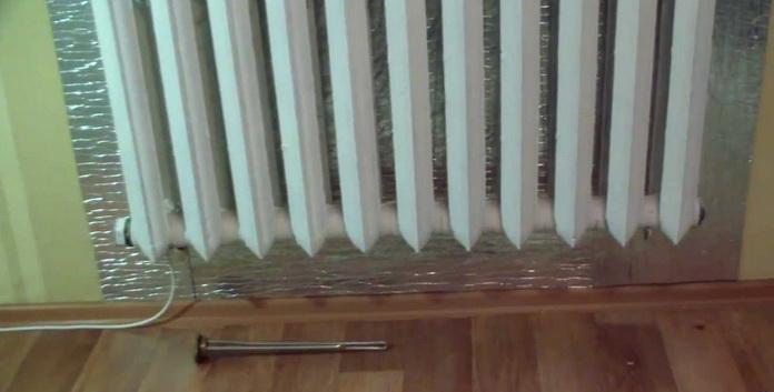 Тен в радиаторе