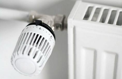 Термоголовка на радиаторе