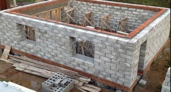 Как построить стены