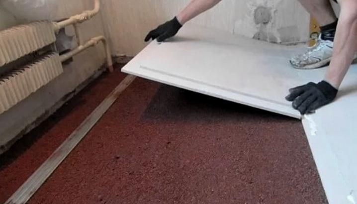 Утепленная сухая стяжка, как делается