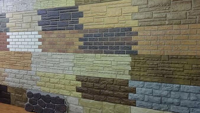 разные панели для навески на фасад