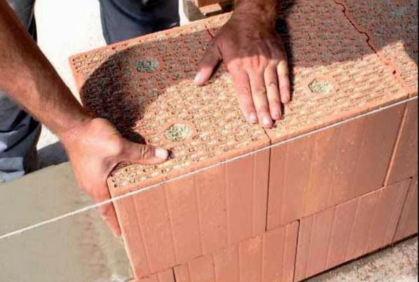 Укладка блоков без швов