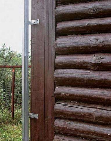 Утепление угла деревянного дома