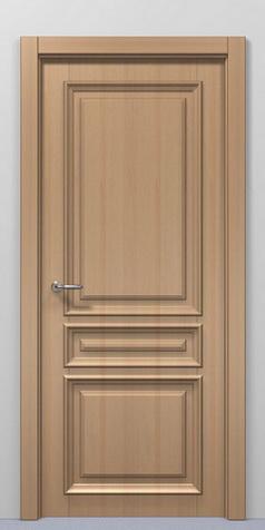 Обычные двери в интерьере