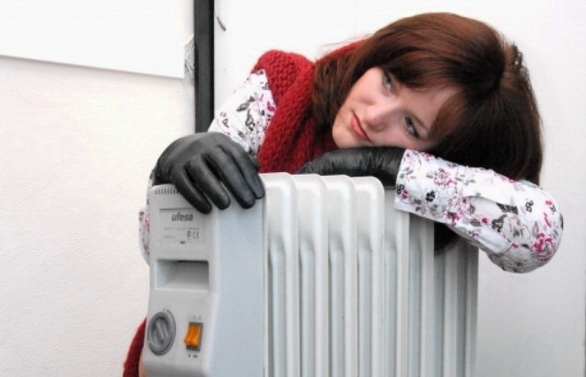 Весьма холодно в доме