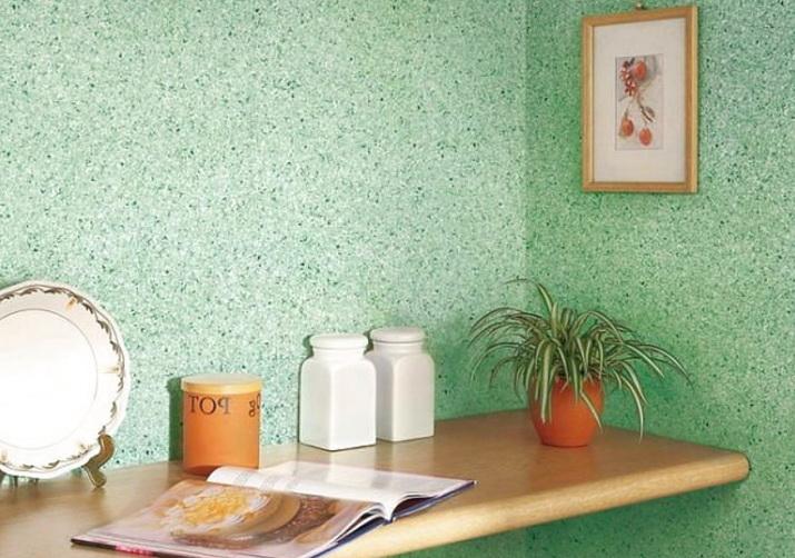 красивые зеленые стены