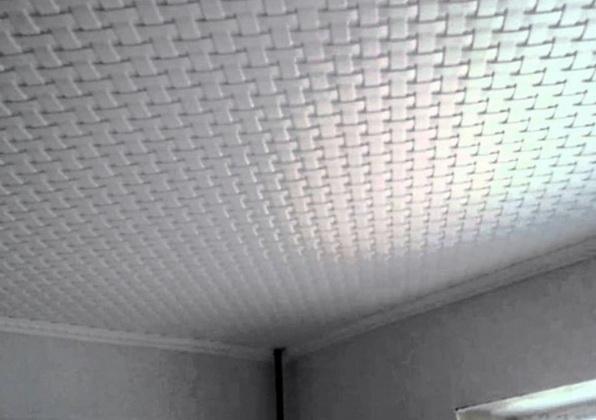Пенопласт на потолке пожароопасно