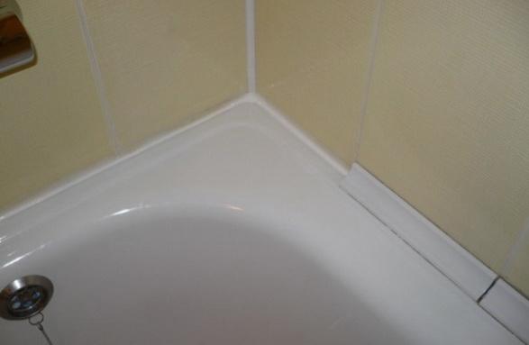 Установка ванны в угол комнаты