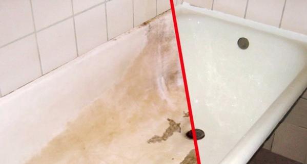 Как восстановить акриловую ванну, — очищение, полировка, заделка дыр