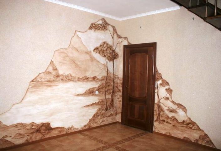 особый дизайн стен