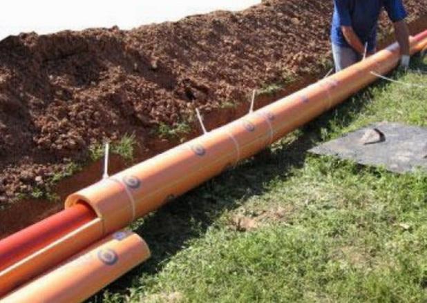 Утеплние труб канализации
