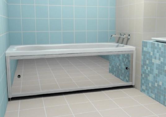 Как сделать экран для ванной